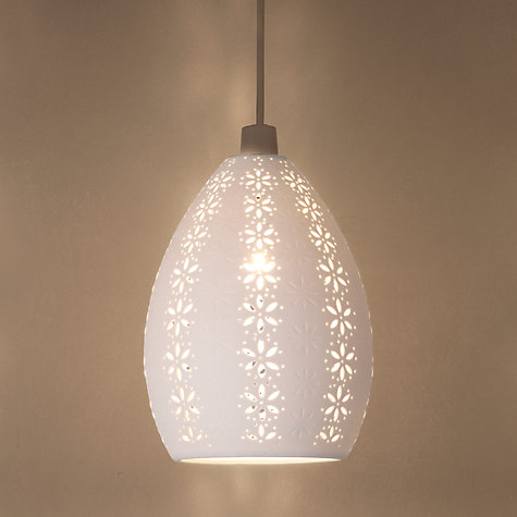 Buy John Lewis Easy-to-fit Jasmina Ceiling Shade Online at johnlewis.com