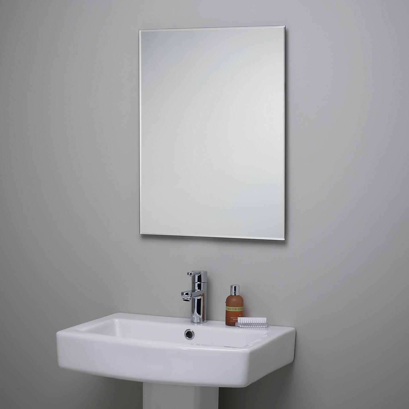 buy john lewis bevelled edge bathroom mirror online at johnlewiscom bathroom mirrors