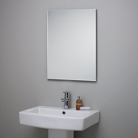Elegant Home  Bathroom Mirrors Amp Cabinets  HiB Malta Illuminated Mirror