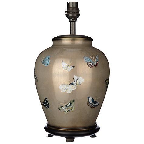 Buy Jenny Worrall Butterflies Glass Lamp Base Online at johnlewis.com