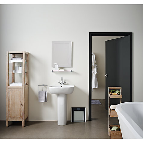 buy john lewis duo wall bathroom mirror 60 x 45cm john. Black Bedroom Furniture Sets. Home Design Ideas