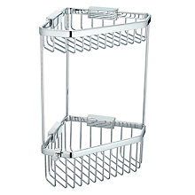 Buy John Lewis 2 Tier Corner Basket, Large Online at johnlewis.com