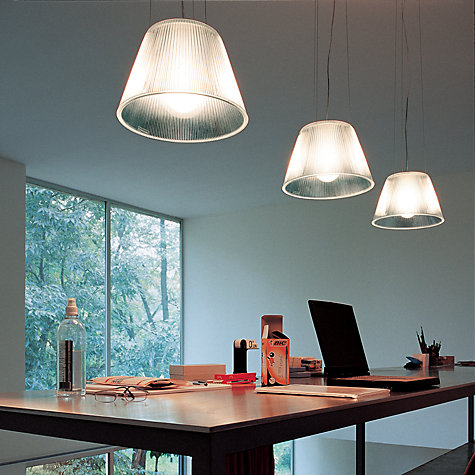Buy Flos Romeo Moon S2 Ceiling Light Online at johnlewis.com
