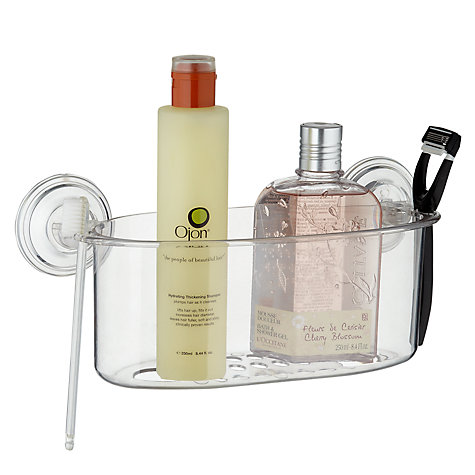 Buy John Lewis Shower Basket, Large Online at johnlewis.com