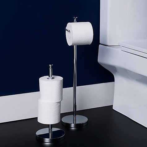 Buy John Lewis Spare Toilet Roll Holder, Stainless Steel Online at johnlewis.com