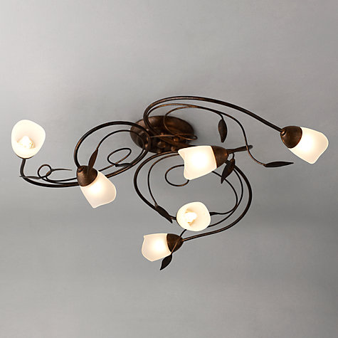Buy John Lewis Carmela Ceiling Light, 6 Arm Online at johnlewis.com