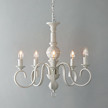 Buy John Lewis Carlita Ceiling Light, 5 Arm Online at johnlewis.com