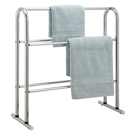 Buy Towel Horse, Chrome Online at johnlewis.com