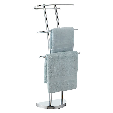Buy John Lewis Shine 3 Arm Towel Stand Online at johnlewis.com