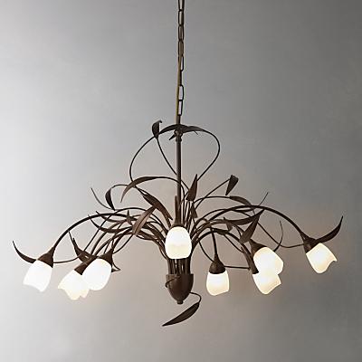 John Lewis Yasmin Ceiling Light, 10 Arm