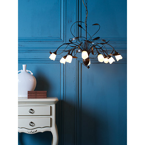 Buy John Lewis Yasmin Ceiling Light, 10 Arm Online at johnlewis.com
