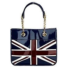 Buy Aspinal Brit Flag Small Tote Handbag Online at johnlewis.com