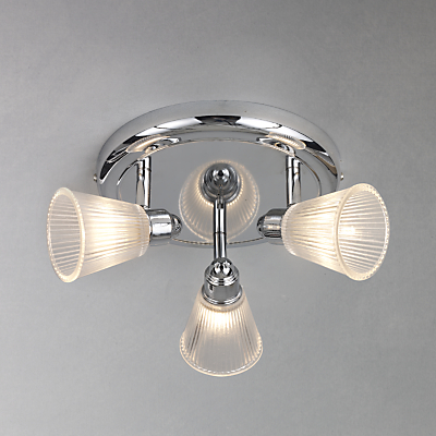 John Lewis Lucca 3 Spotlight Bathroom Ceiling Plate
