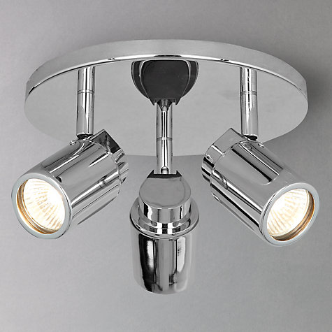Buy Astro Como 3 Bathroom Spotlight Ceiling Plate John Lewis