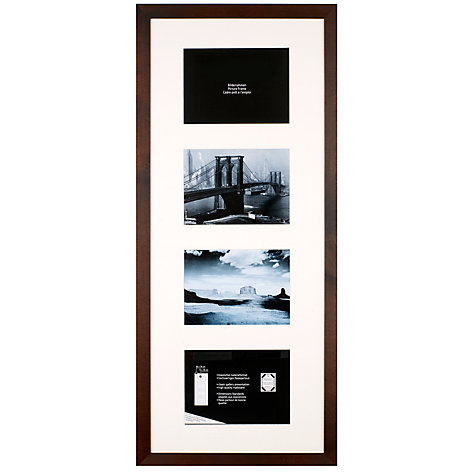 Buy Nielsen Chocolate Multi-Aperture Photo Frame Online at johnlewis.com
