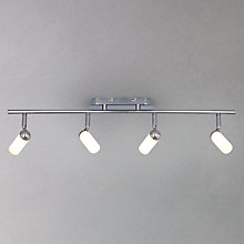 Buy John Lewis Riva 4 Bathroom Spotlight Ceiling Bar Online at johnlewis.com
