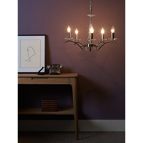 Buy John Lewis Satine Ceiling Light, 5 Arm Online at johnlewis.com
