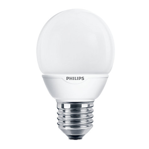 Buy Philips 7W ES Softone Energy Saving Golf Ball Bulb, Opal Online at johnlewis.com