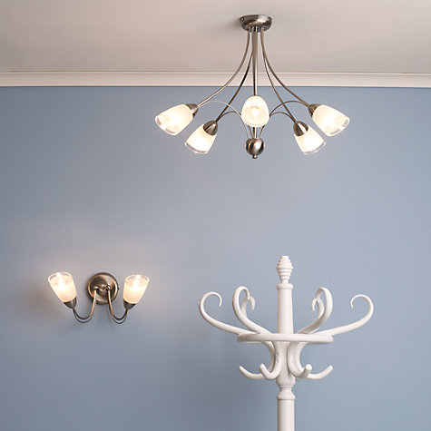 Buy John Lewis Mizar Ceiling Light, 5 Arm Chrome Online at johnlewis.com