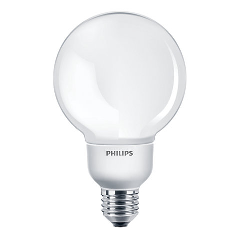 Buy Philips 12W ES Softone Energy Saving Globe Bulb, Opal Online at johnlewis.com