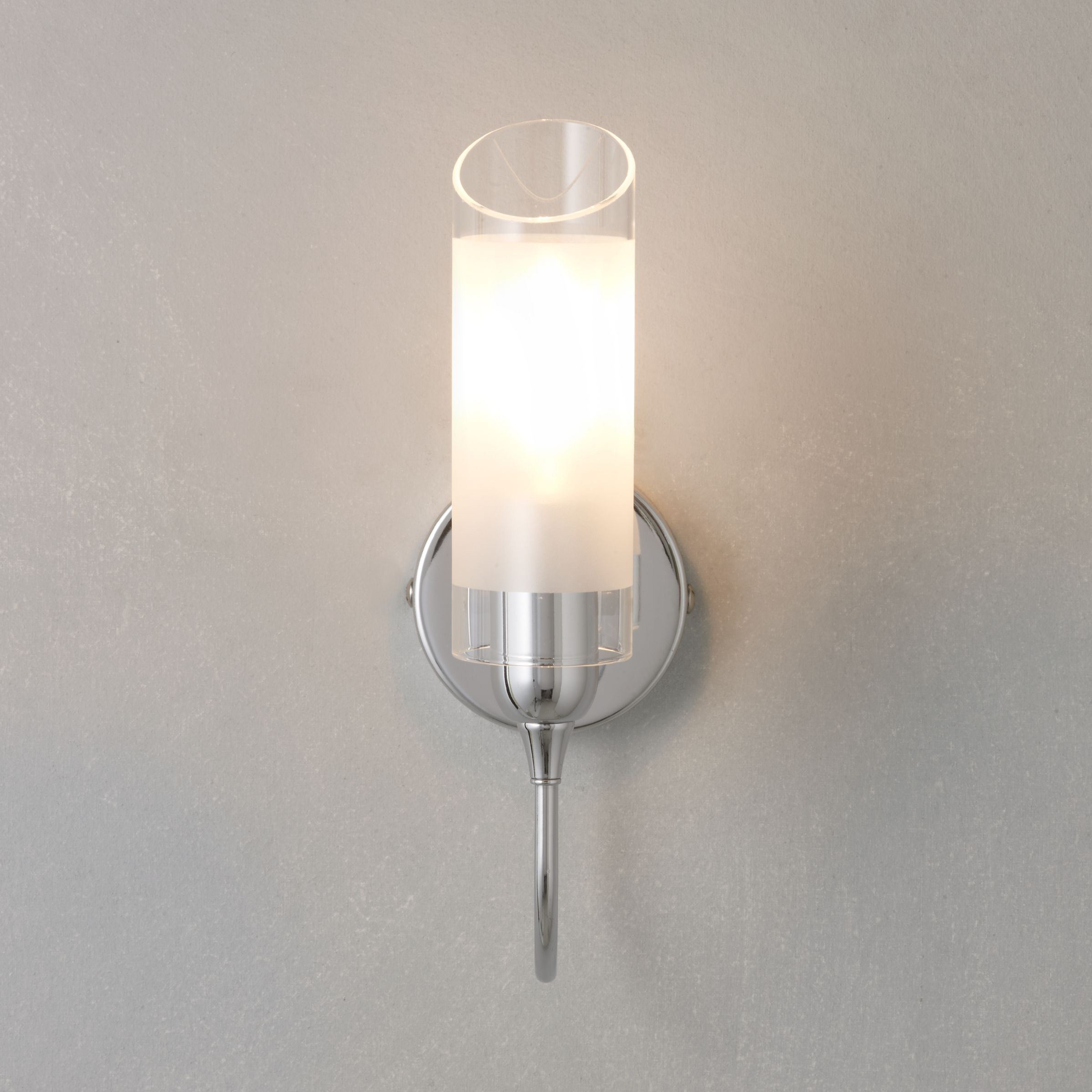 John Lewis Wall Lights Glass : Buy John Lewis Limbo Wall Light, Chrome John Lewis