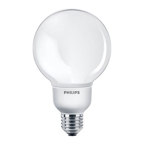 Buy Philips 20W ES Softone Energy Saving Globe Bulb, Opal Online at johnlewis.com