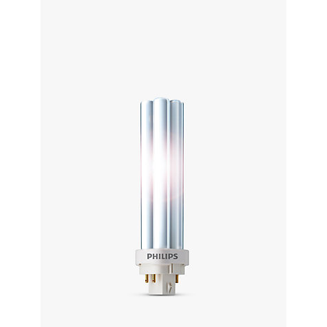 Buy Philips PLC 4 Pin G24Q-827/4P Energy Saver Bulb, 10W Online at johnlewis.com