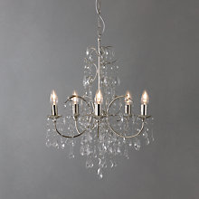 Buy John Lewis Estella Chandelier, 5 Arm Online at johnlewis.com
