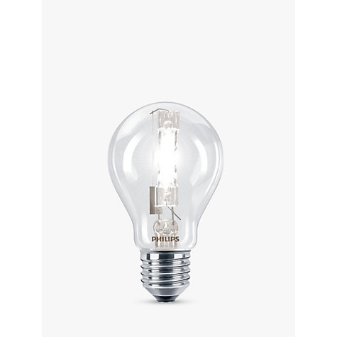 Buy Philips 42W ES Eco Halogen Classic Bulb, Pack of 3 Online at johnlewis.com