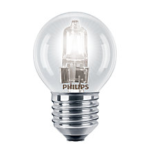 Buy Philips Halogen 42W ES Classic Golf Ball Bulb, Clear Online at johnlewis.com