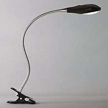 Buy John Lewis Lewis Leo LED Clip Light, Black Online at johnlewis.com