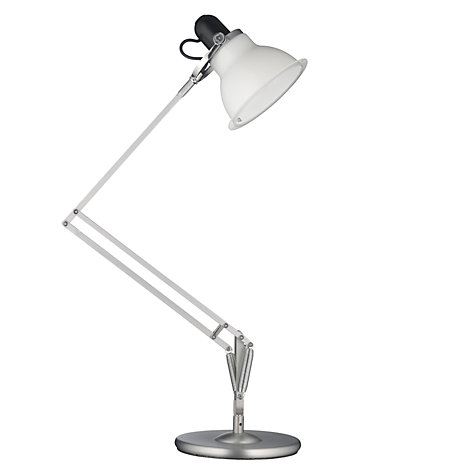 Buy Anglepoise Type 1228 Lamp, White Online at johnlewis.com