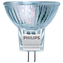 Buy Philips 35W GU5.3/MR16 EcoHalo Bulb, Clear Online at johnlewis.com