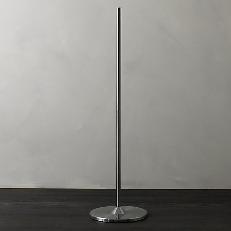 Buy Anglepoise Floor Stand , Silver Online at johnlewis.com