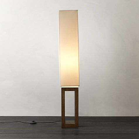 Buy John Lewis Echo Wood Floor Lamp Online at johnlewis.com