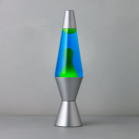 Buy Midi Lava Lamp, Blue / Green Online at johnlewis.com