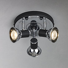 Buy John Lewis Lancaster 3 Spotlight Ceiling Plate Online at johnlewis.com