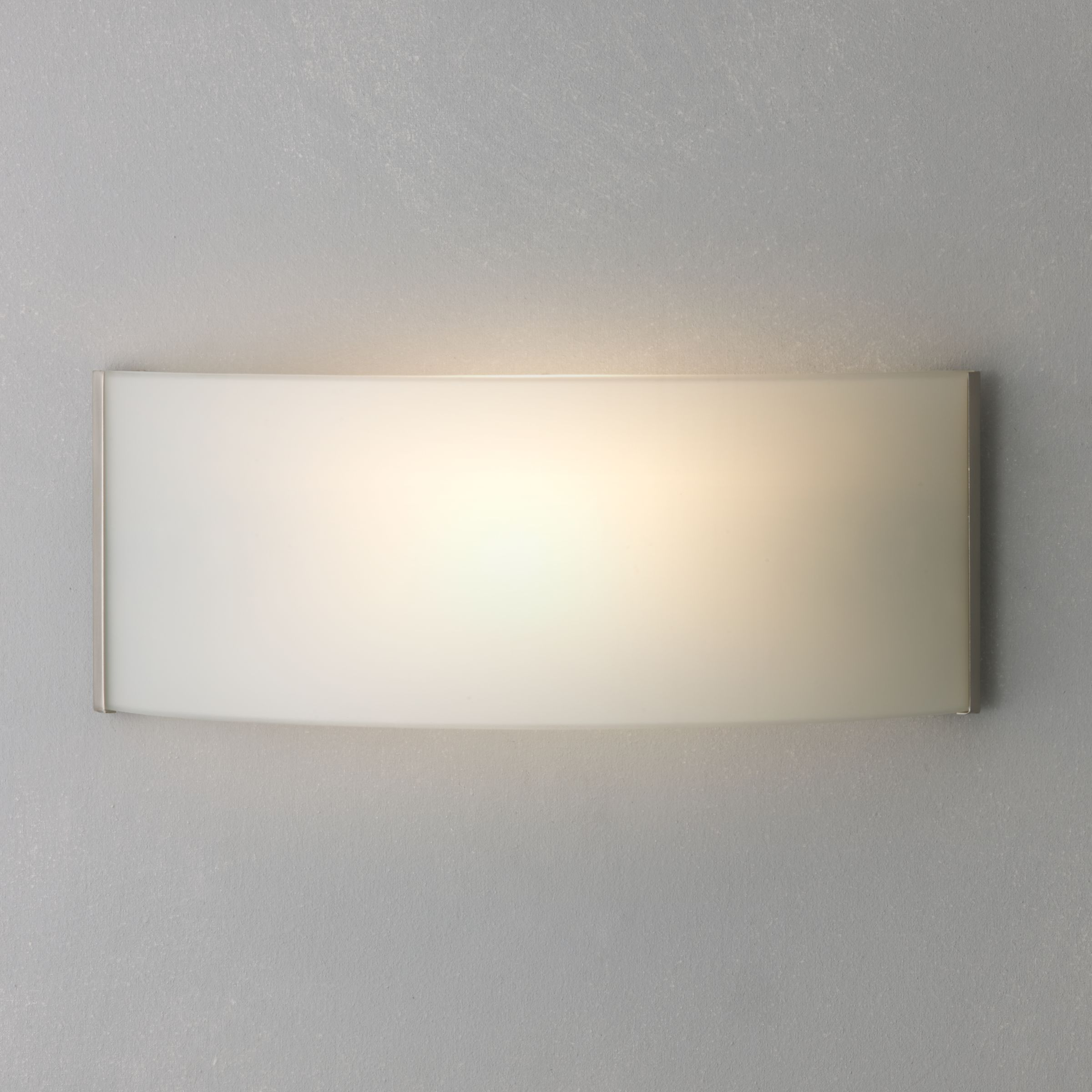 Limbo Wall Light Chrome : Glass Wall Lighting John Lewis
