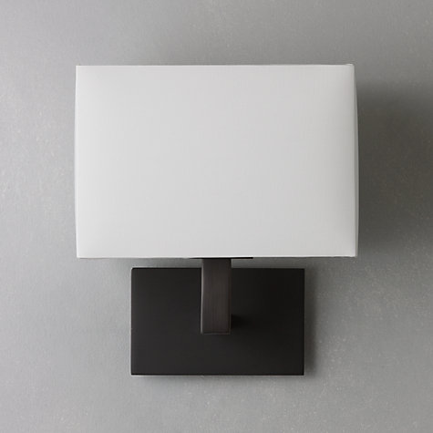 Buy John Lewis Connaught Wall Light, Bronze Online at johnlewis.com