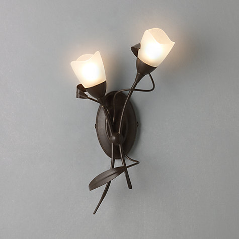 Buy John Lewis Yasmin Wall Light, 2 Arm Online at johnlewis.com