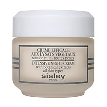 Buy Sisley Intensive Night Cream, 50ml Online at johnlewis.com