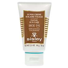 Buy Sisley Facial Suncream SPF 10, 60ml Online at johnlewis.com