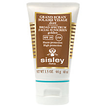 Buy Sisley Broad Spectrum Sunscreen SPF 30  (Golden), 40ml Online at johnlewis.com