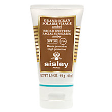 Buy Sisley Broad Spectrum Sunscreen SPF 30  (Amber), 40ml Online at johnlewis.com