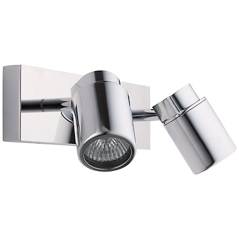 Buy ASTRO Como 2 Bathroom Spotlight Wall Plate Online at johnlewis.com