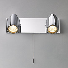 Buy Como 2 Spotlight Wall Plate Online at johnlewis.com