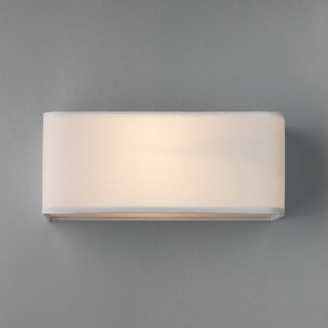 Buy John Lewis Ashino Rectangle Wall Light Online at johnlewis.com