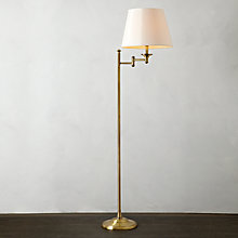 Buy John Lewis Dominic Floor Lamp, Brass Online at johnlewis.com