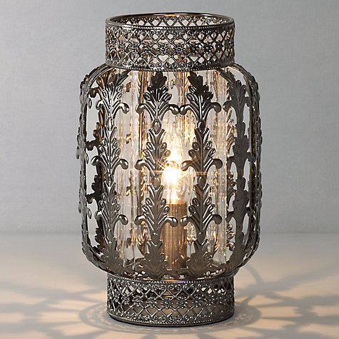Buy John Lewis Suri Table Lamp, Dark Online at johnlewis.com