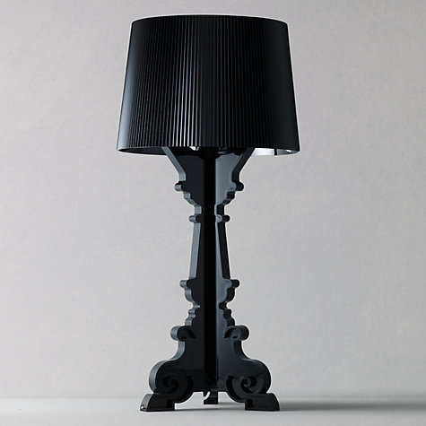 Buy Kartell Bourgie Table Lamp, Black Online at johnlewis.com